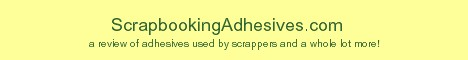 Scrapbooking Adhesives